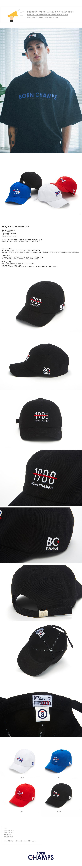 본챔스(BORN CHAMPS) [본챔스]1988 모자 블랙 CEQFMCA04BK